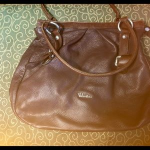 ValentinA Leather Bag. Made in Italy